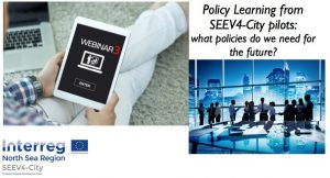SEEV4-City Webinar - Policy Learning from SEEV4-City pilots: what policies do we need for the future? @ Online - Zoom Webinar