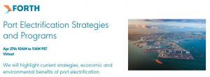 Forth Webinar: Port Electrification Strategies and Programs