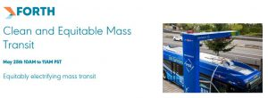 Forth Webinar: Clean and Equitable Mass Transit
