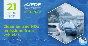 AVERE Webinar: Clean air and NOx emissions from vehicles @ Free Online Webinar