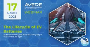 AVERE and IEA HEV Task 40 CRM4EV Webinar: The Lifecycle of EV Batteries & Recycling @ Free Online Webinar